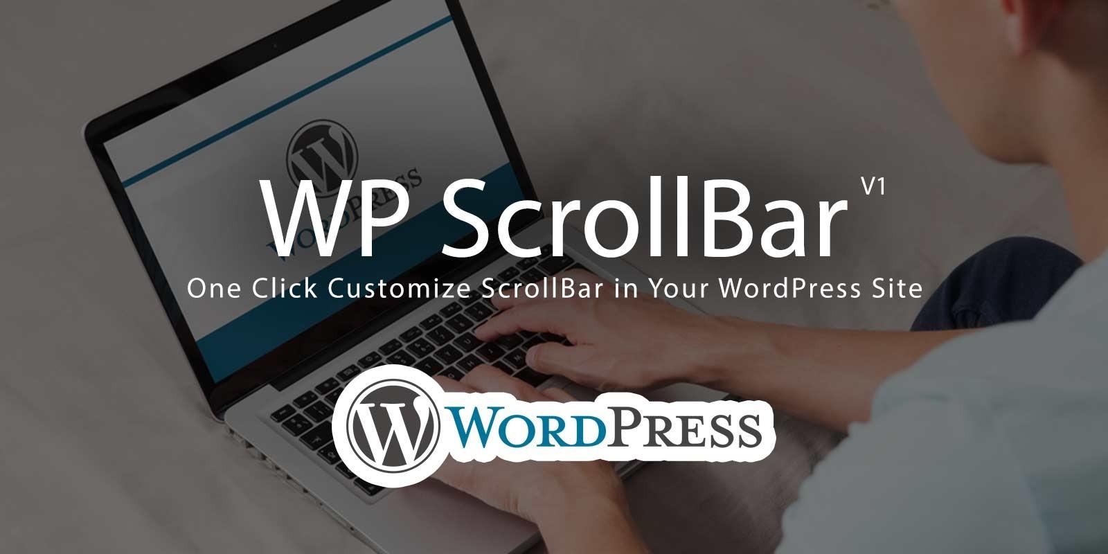 WP ScrollBar Plugin