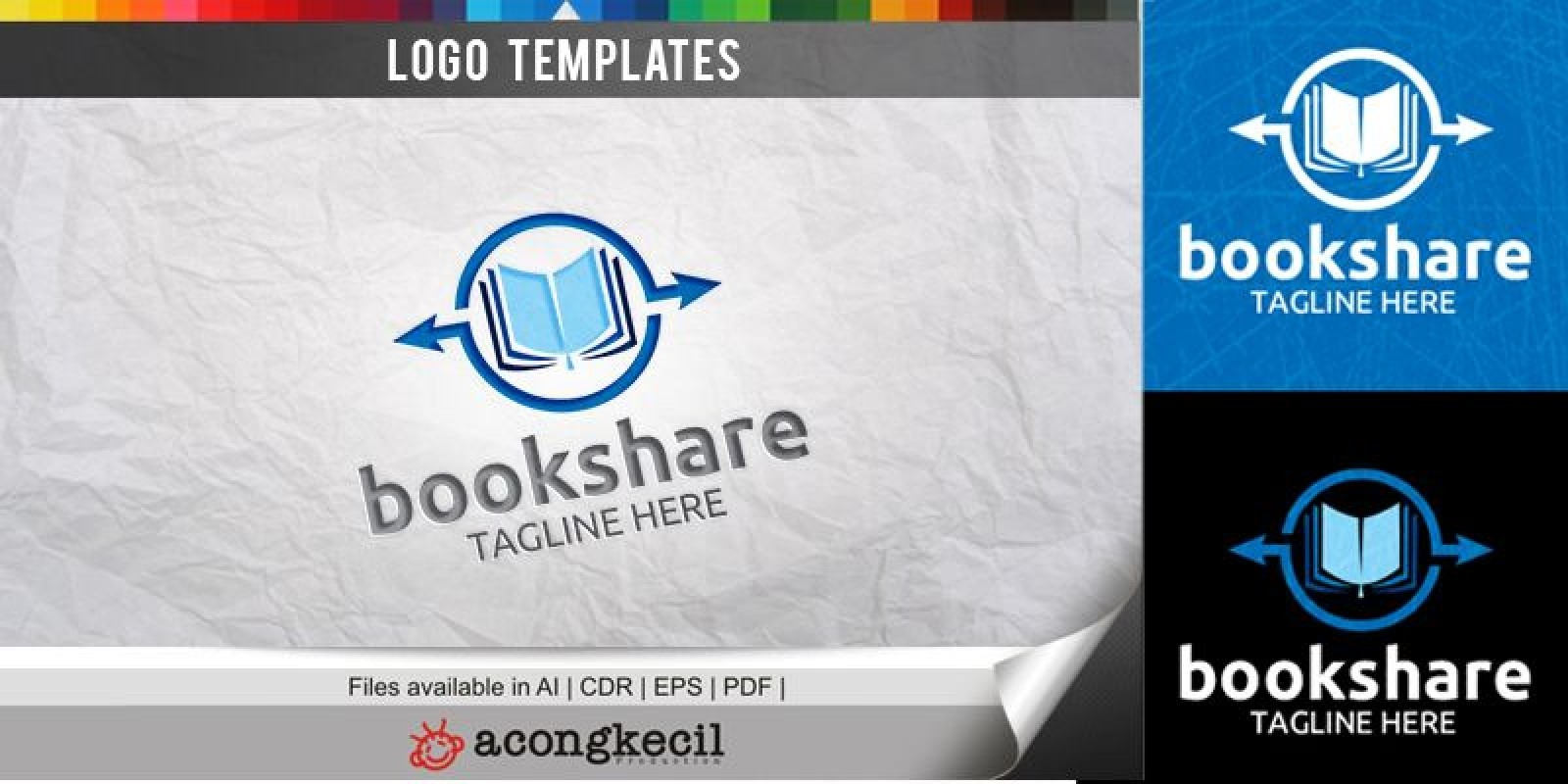 Book Share - Logo Template