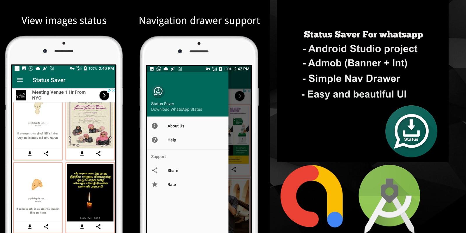 Status Saver - Android App Source Code