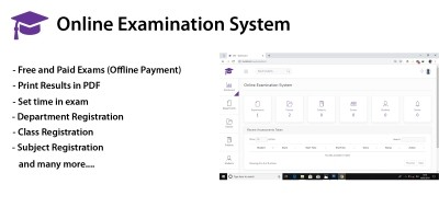OES - Online Examination System PHP