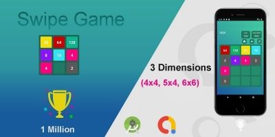 Swipe Game Version Basic - Android Template