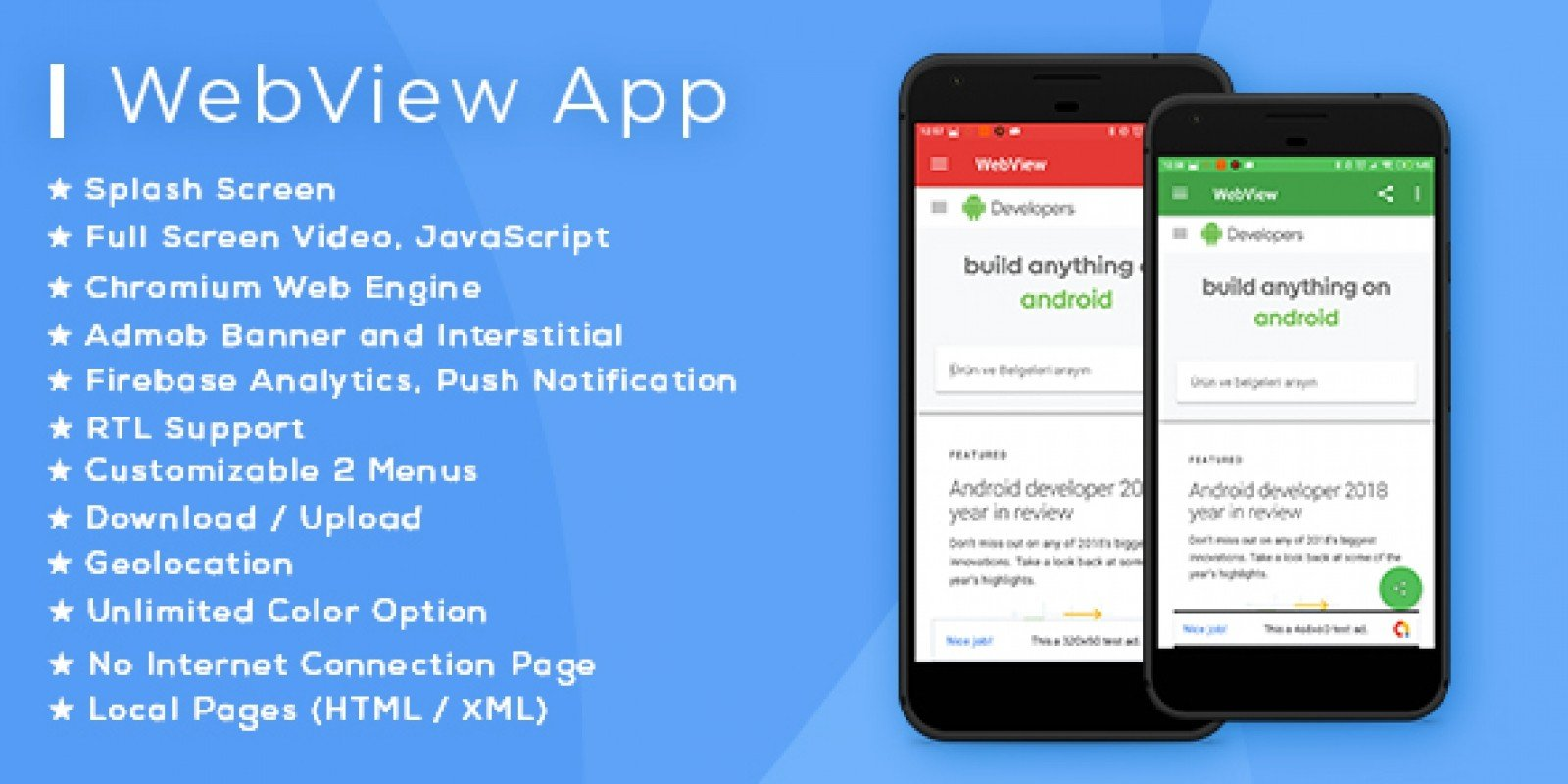 Advanced Android WebView App