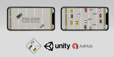 ZigZag - Endless Traffic Racing - Unity Engine