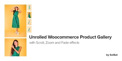 Unrolled WooCommerce Product Gallery by SofAst