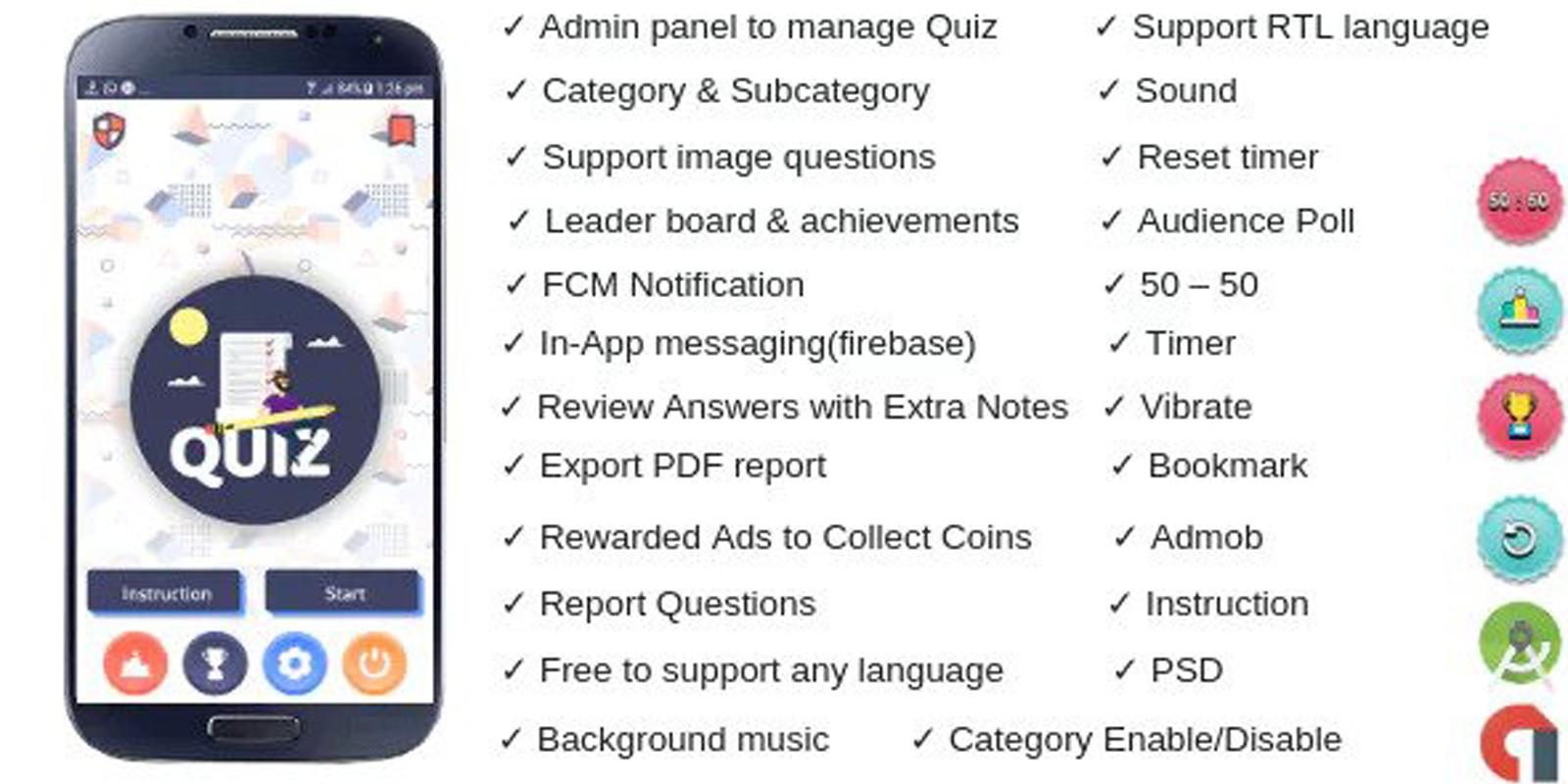Quiz Online - Android App Source Code