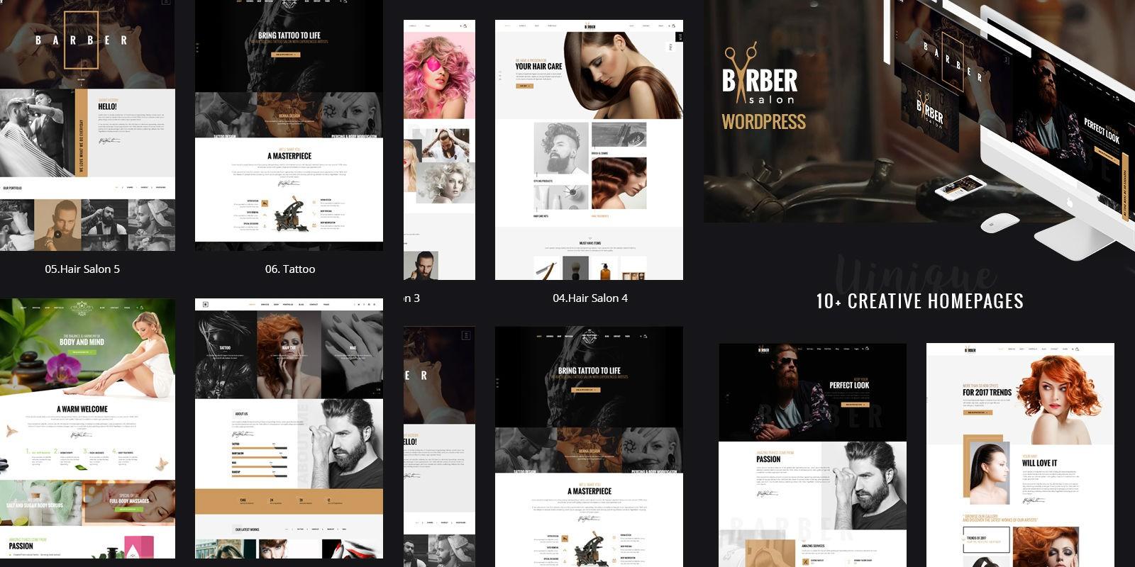 Beauty Salons WordPress Theme