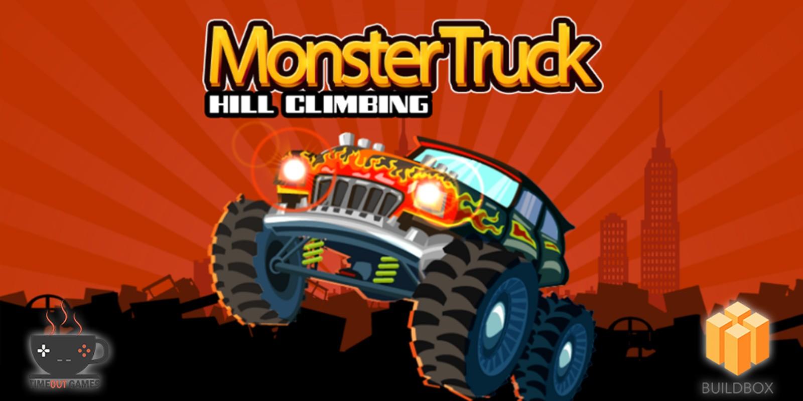 MonsterTruck - Hill Climb - Buildbox Game Template