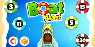 Boat Blast Game Template Buildbox