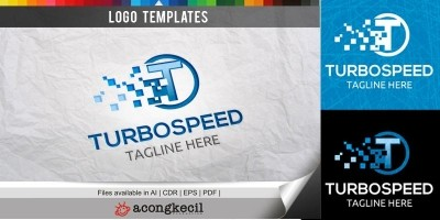 Turbo Speed - Logo Template