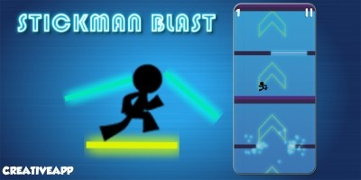 Stickman Blast -Buildbox Template