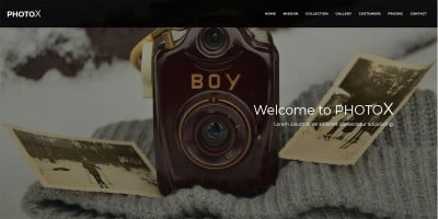 PhotoX - Professional Photography HTML Template
