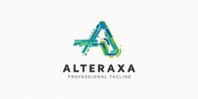 Alteraxa - A Letter Logo