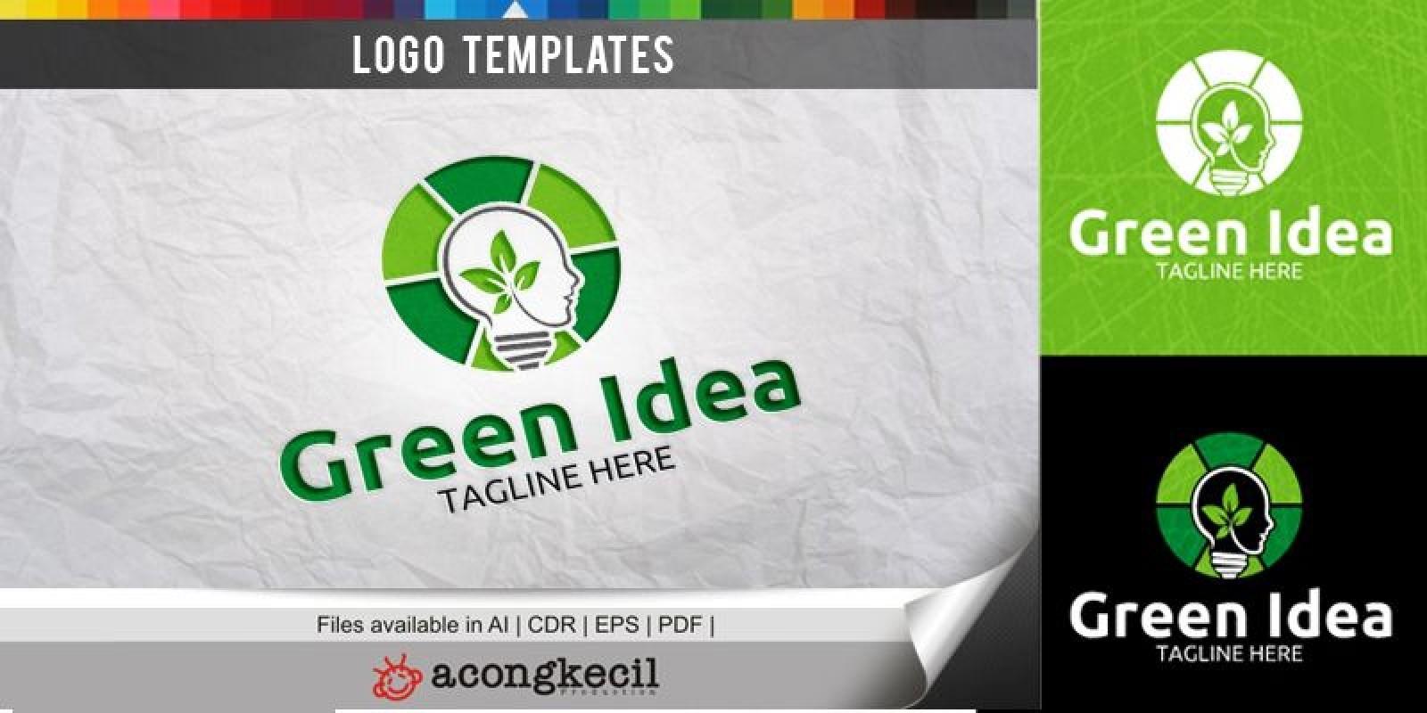 Green Idea - Logo Template