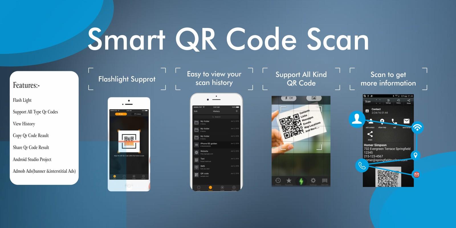 QR Scan-Bar Code Reader App - Complete Source Code