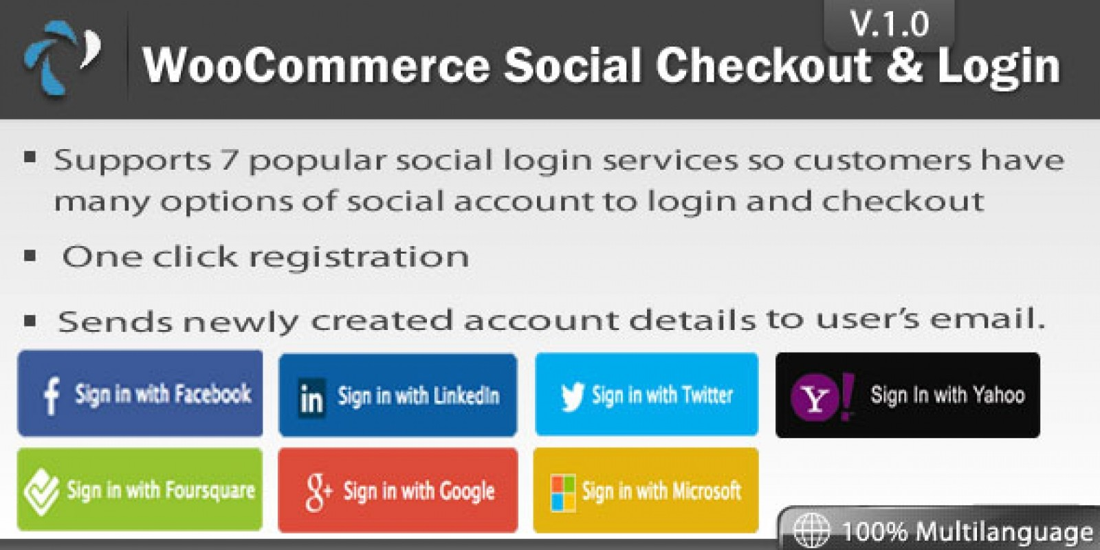 WooCommerce Social Login Extension