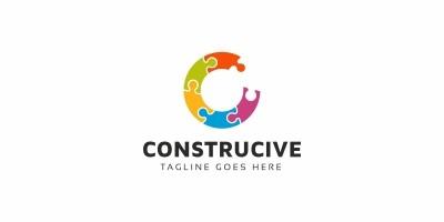 Construcive C Letter Logo
