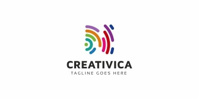 Abstract Colorful Logo Template