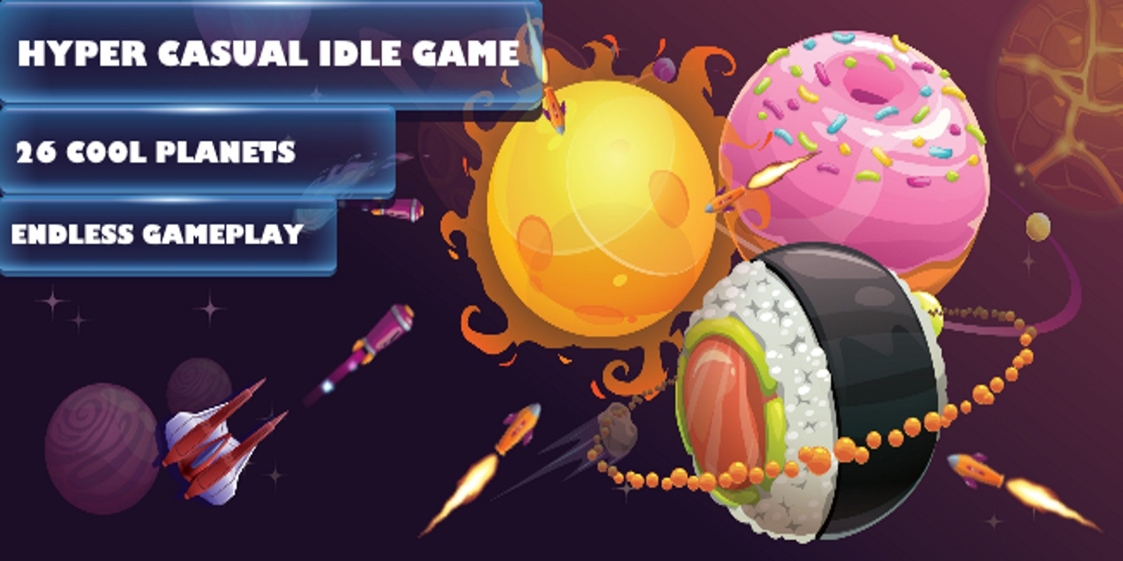 Idle Space Destroyer - Complete Unity Project