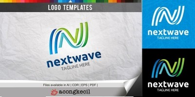 Next Wave - Logo Template