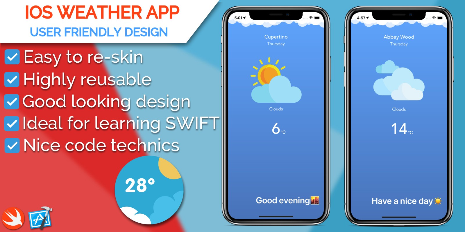 iOS Weather Application Source Code