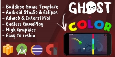 Ghost vs Color - Template Buildbox