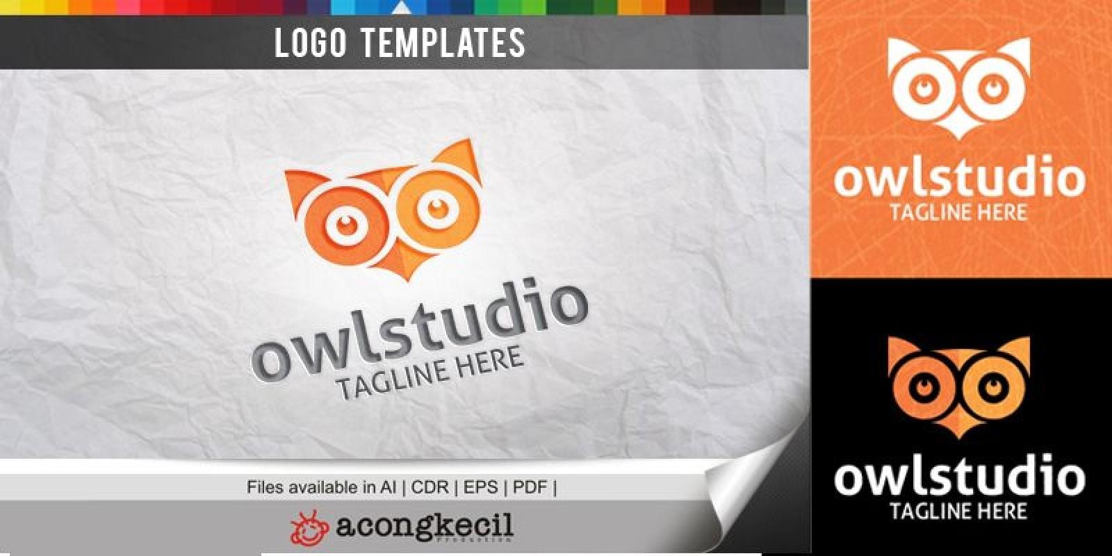 OwlStudio - Logo Template