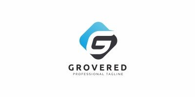 Grovered G Letter Logo