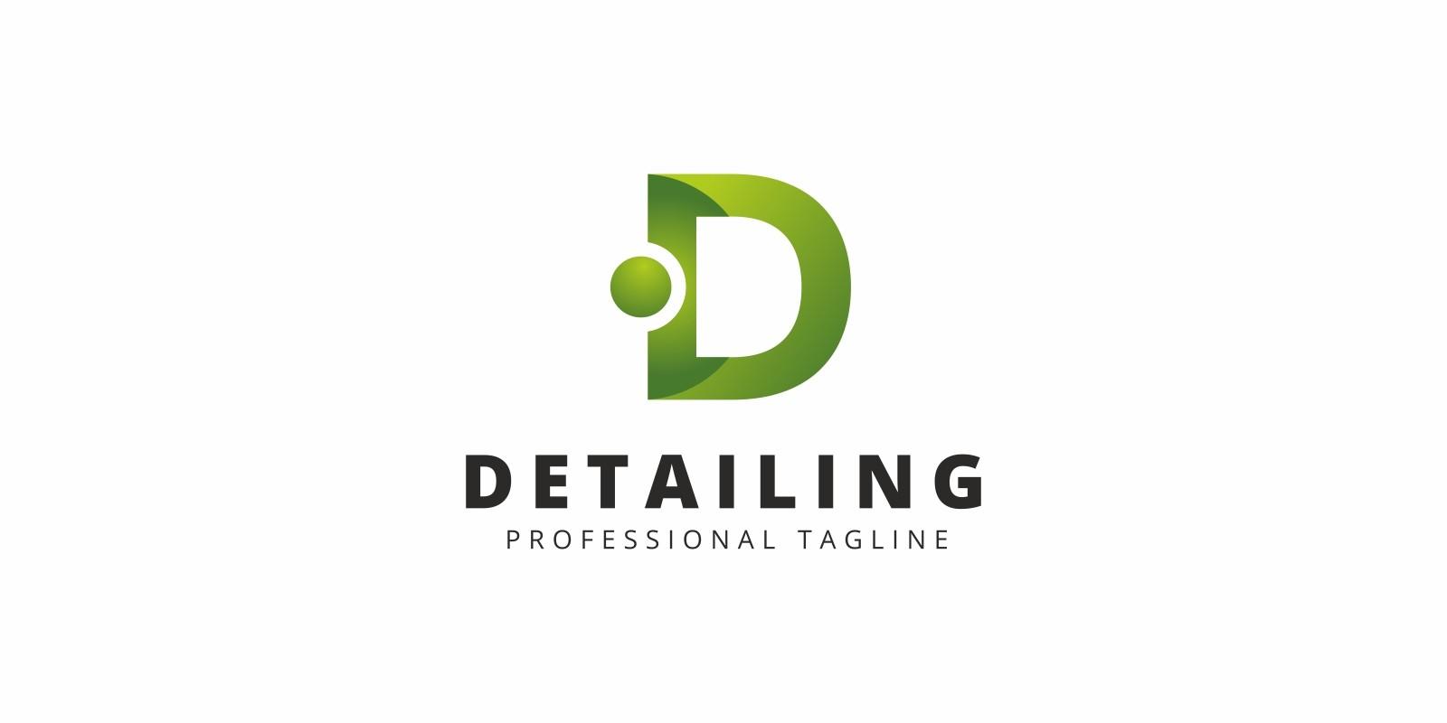 Detailing D Letter Logo
