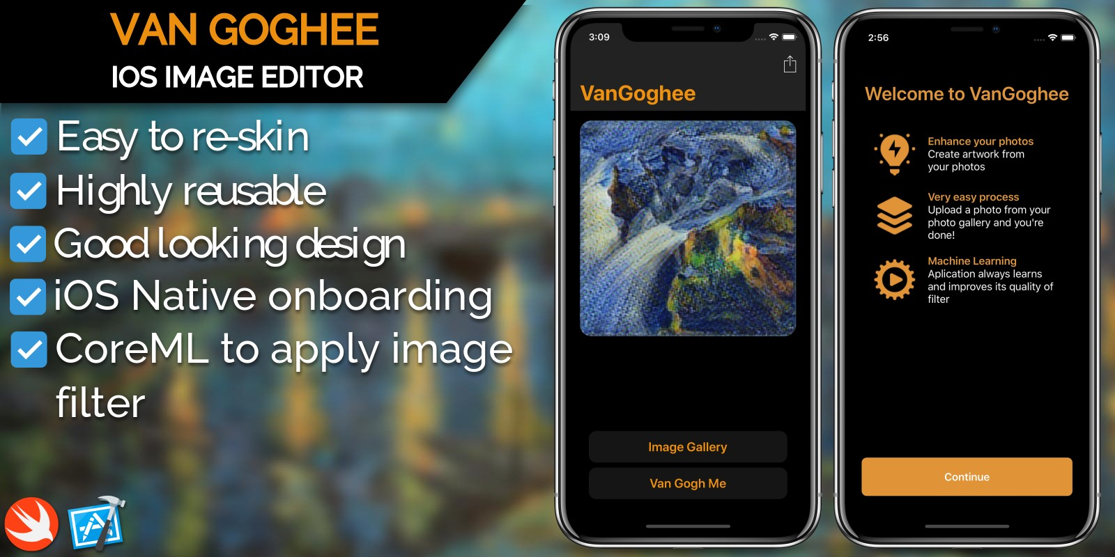 VanGoghee - iOS Image Filter Application