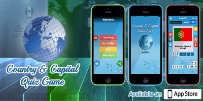 Country and Capital Quiz - iOS Source Code
