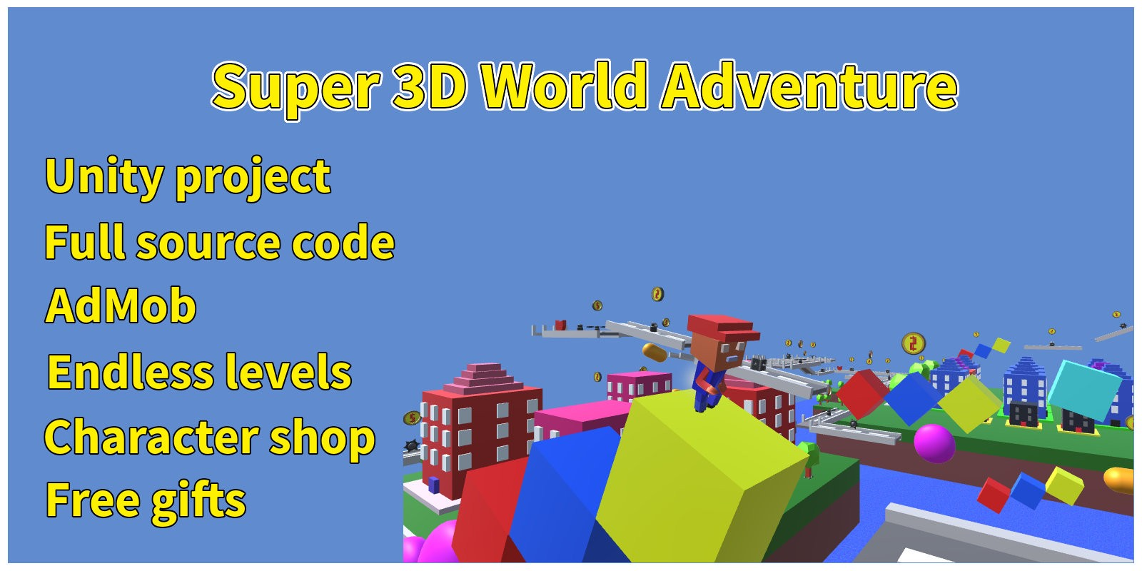 Super 3D World Adventure - Unity