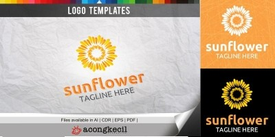 Sunflower - Logo Template