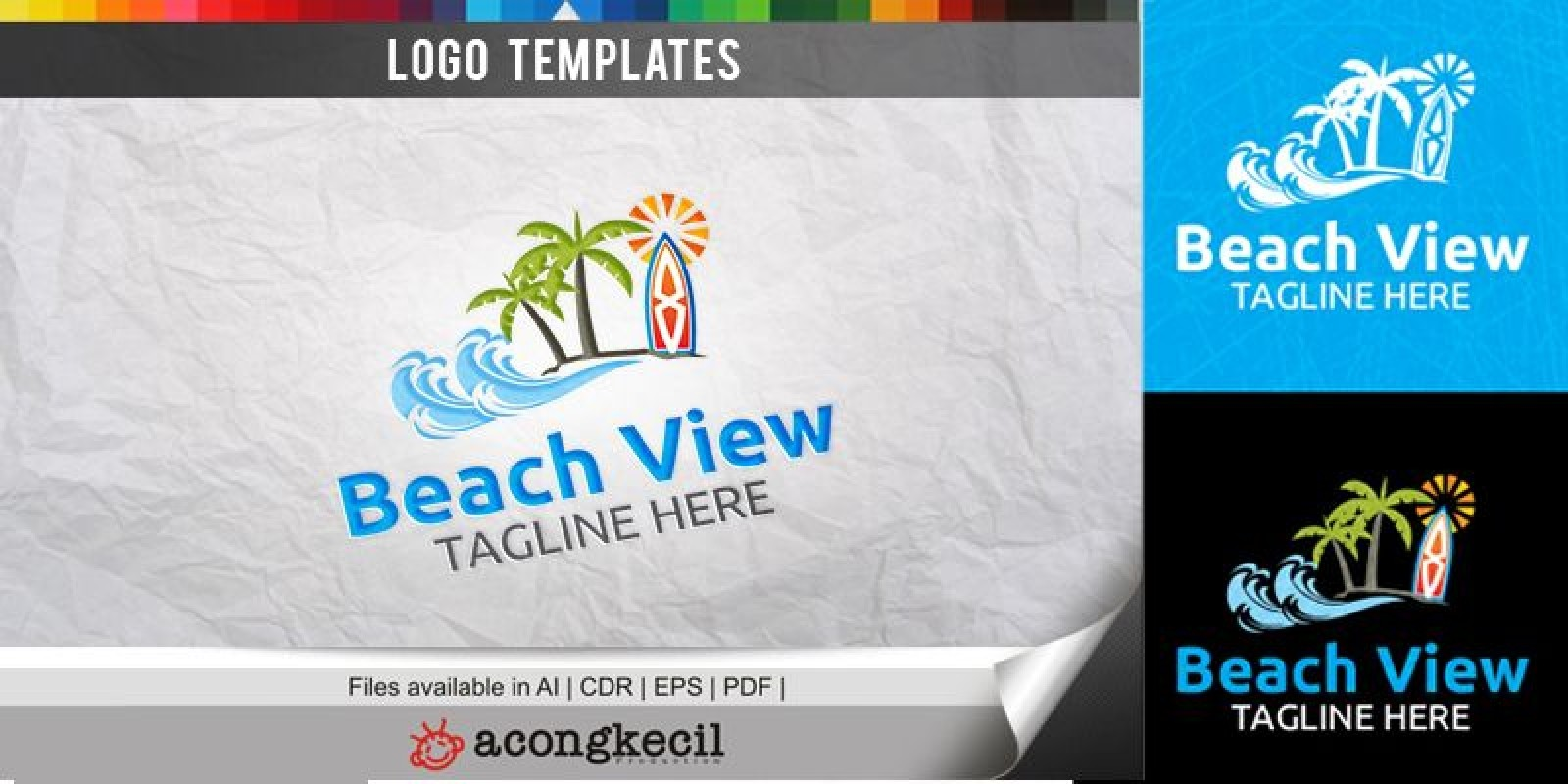 Beach - Logo Template