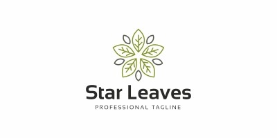 Star Leaves Logo
