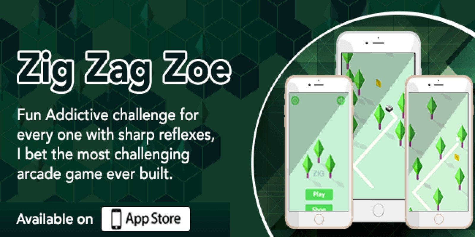 Zig Zag Zoe  - iOS Game Source Code