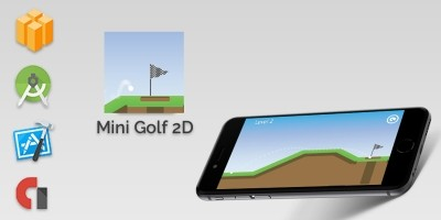 Golf Mini 2D  - Buildbox Template