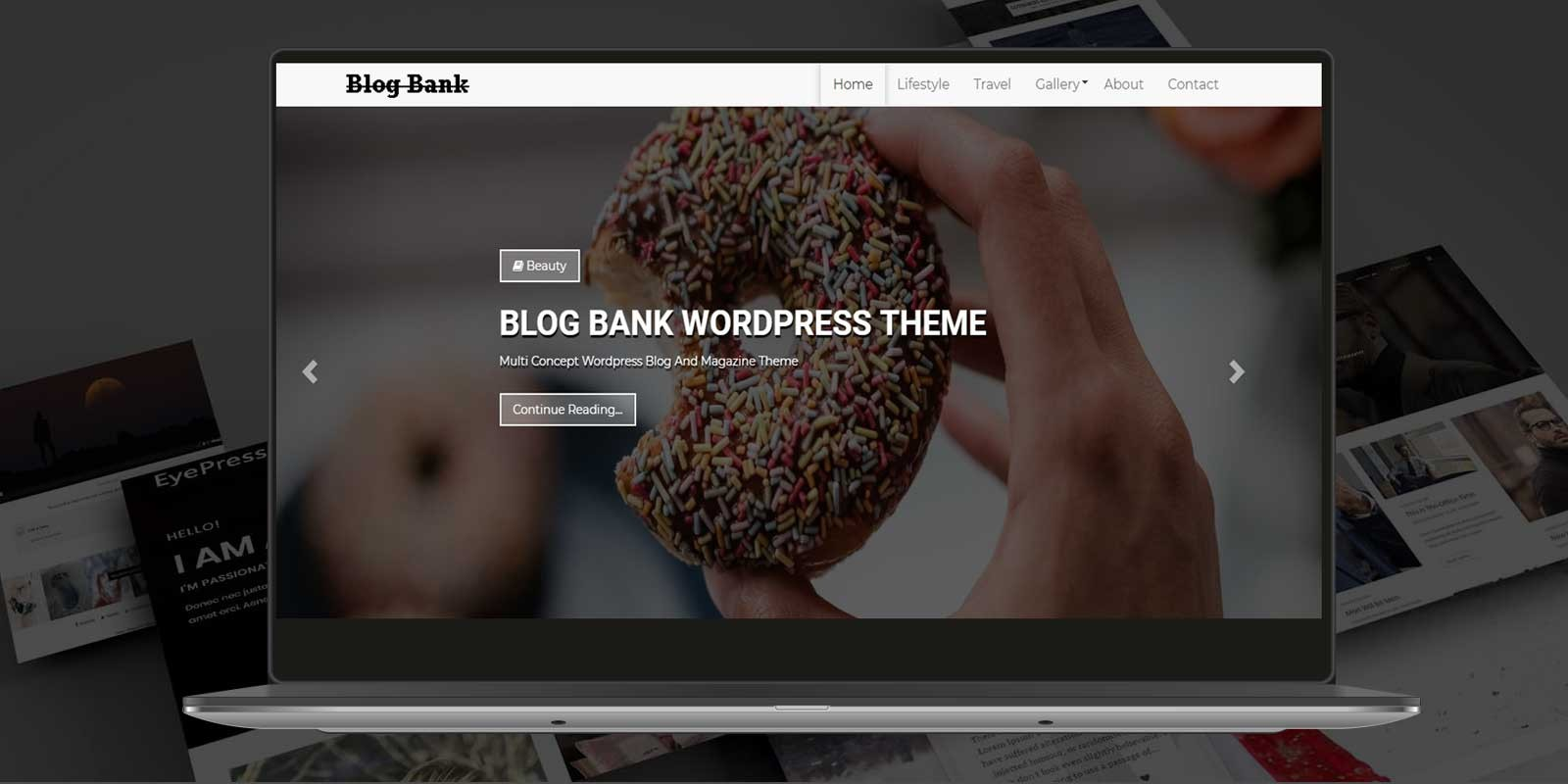 Blog Bank WordPress Theme