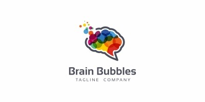 Brain Bubbles Logo