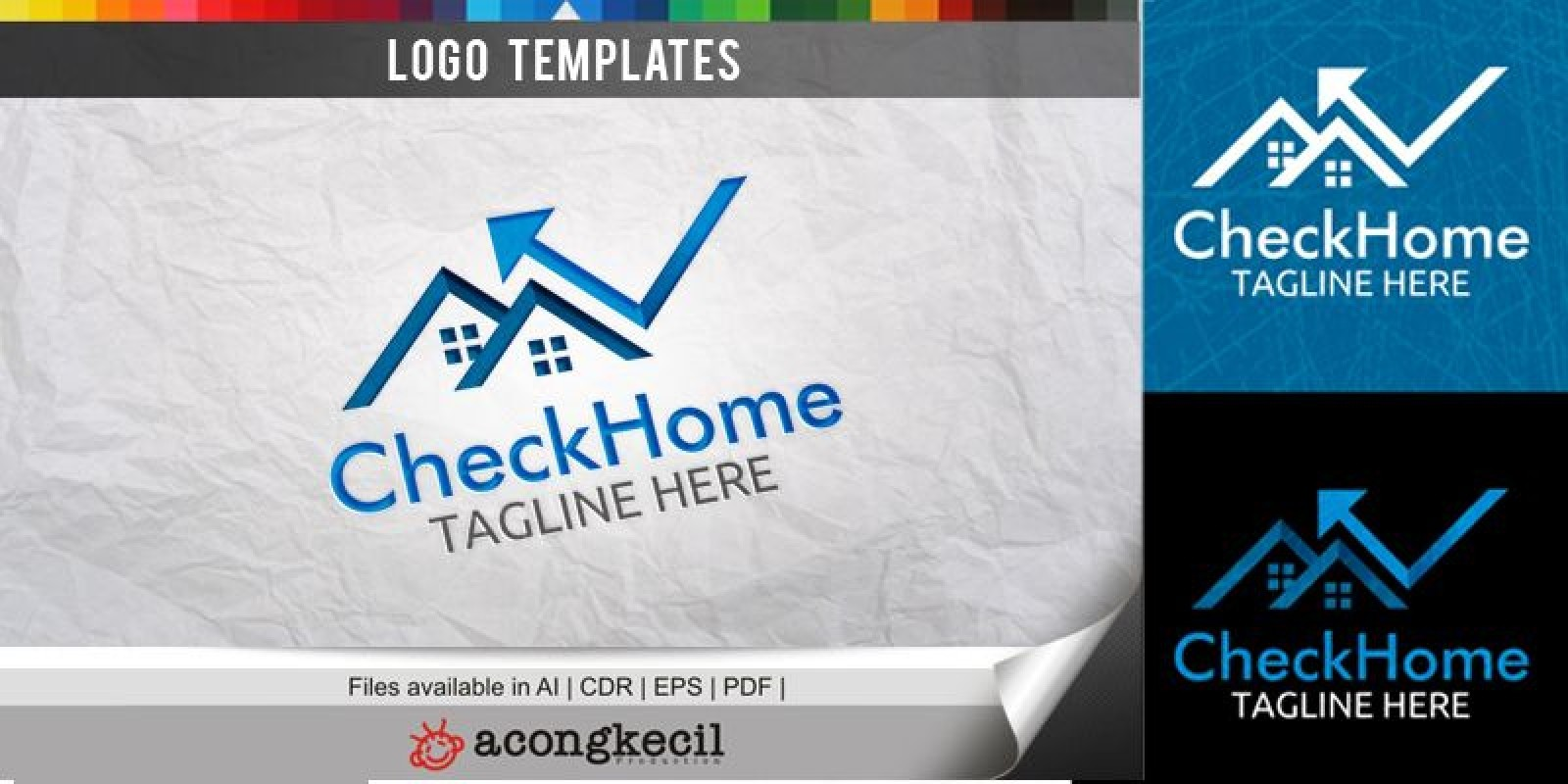 Check Home - Logo Template