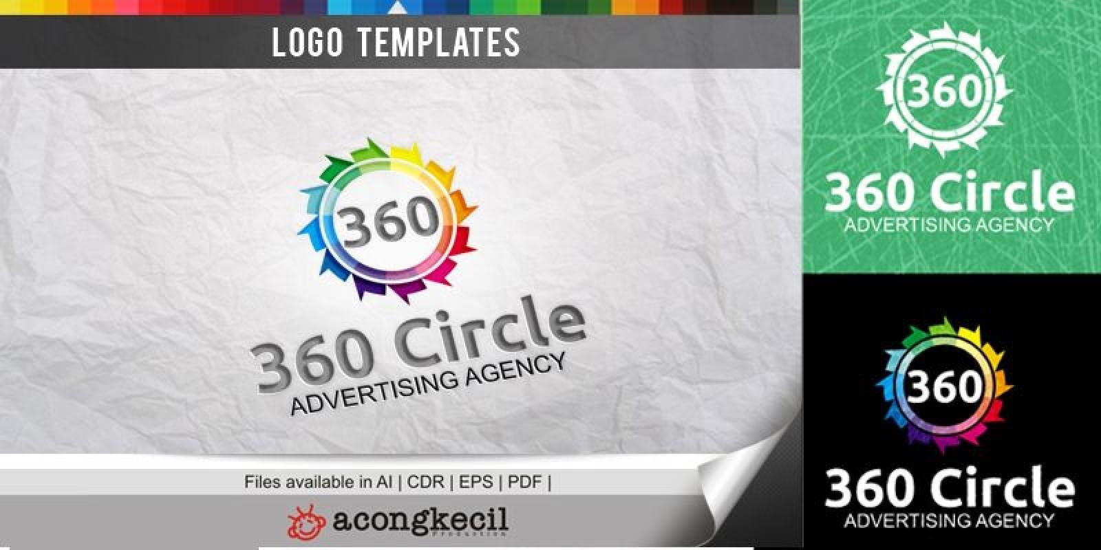 360 circle - Logo Template