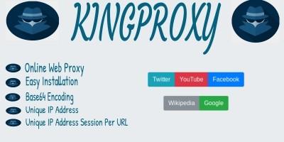 King Proxy - Online Web Proxy PHP