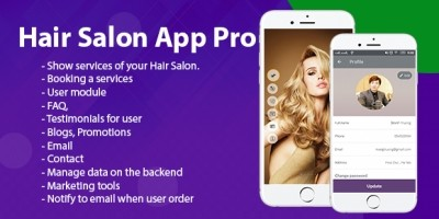 Hair Salon Pro - Android App Template