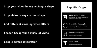 Shape Video Cropper - Xcode Project