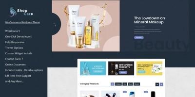 Shopcare - Health And Beauty WooCommerce Theme