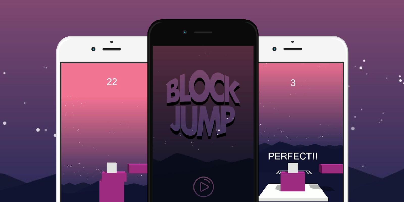 Block Jump - Buildbox 3 Hyper Casual Game