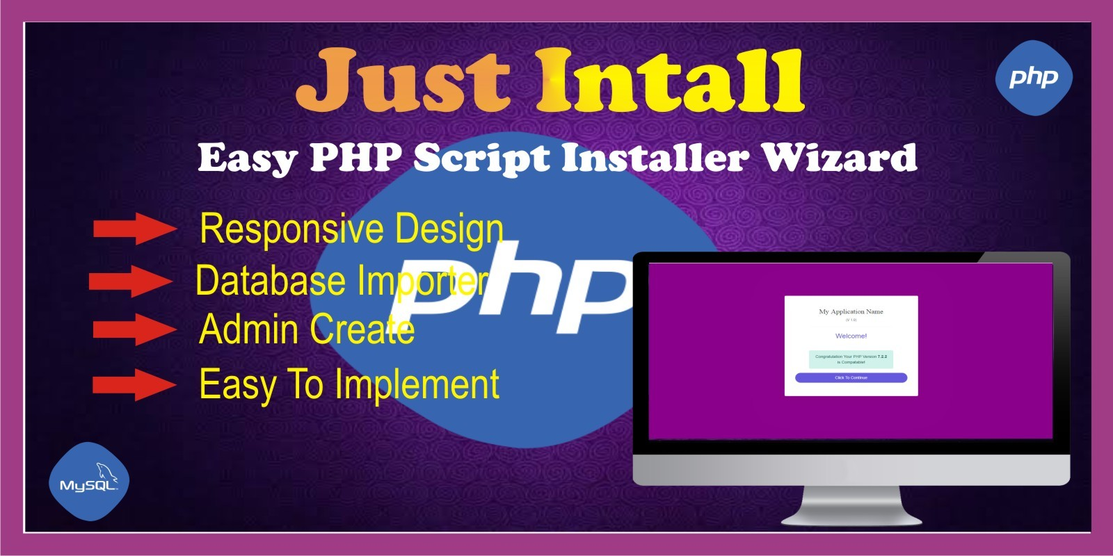 Just Install PHP Script Installer