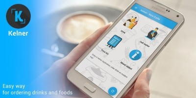 Kelner Drink And Food Ordering Android App
