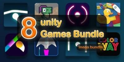8 Unity Games Bundle