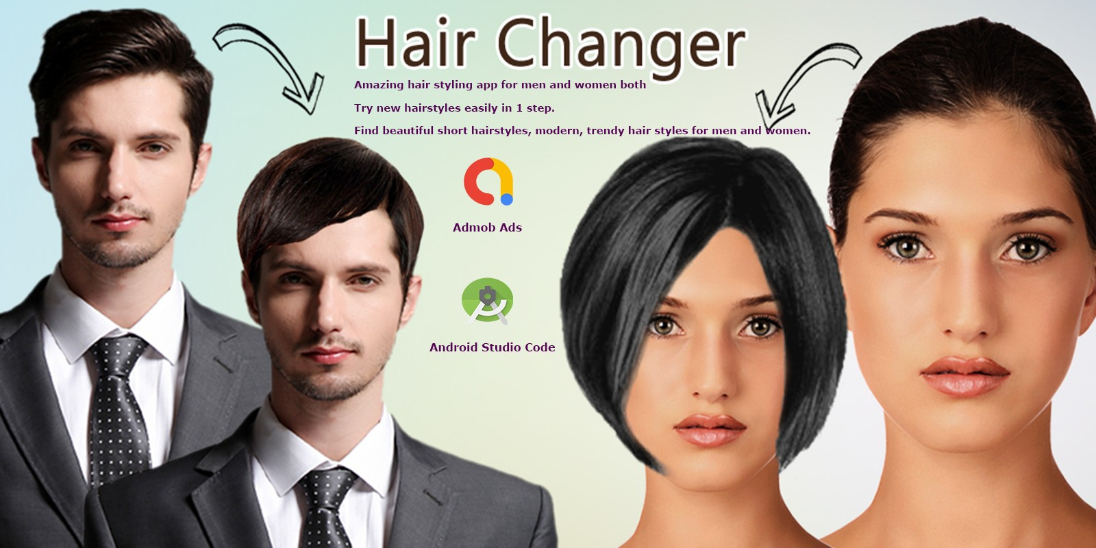 Hair Style Changer Source Code