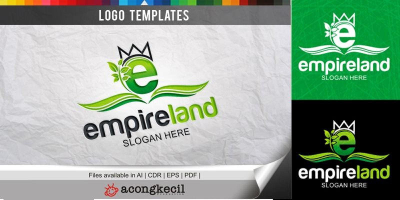 Empire land - Logo Template